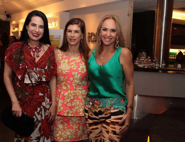 Ana Paula Cascão, Clotilde Pinto e Lucinha Cascão. Crédito: Nando Chiappetta/DP/D.A Press