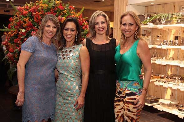 Carla Konrad, Soraya Carneiro Leão,Tania Konrad e Lucinha Cascão. Crédito: Nando Chiappetta/DP/D.A Press