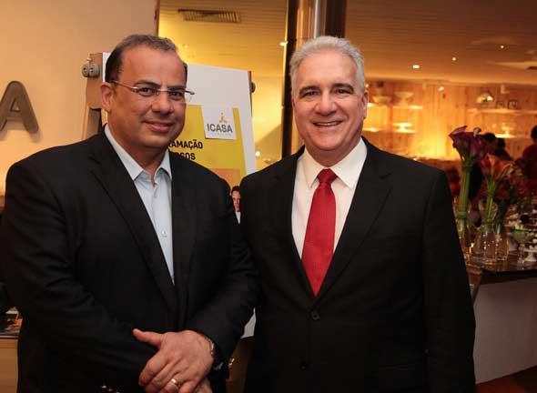 Waldir Bitú e Antônio Mário Pinto. Crédito: Nando Chiappetta/DP/D.A Press