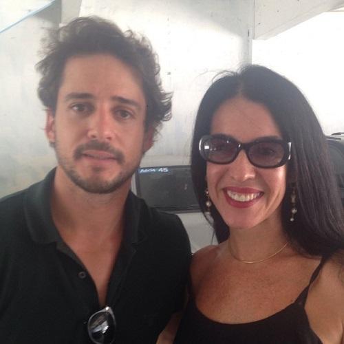 Guilherme Menezes e Maria do Céu - Crédito: Reprodução Facebook