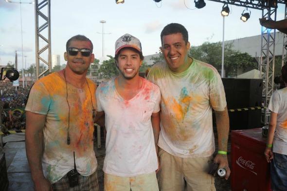 Bruno Novaes, Rodrigo Mota e Eric Francy. Crédito: Gabriel Pontual - Moove Comunicação
