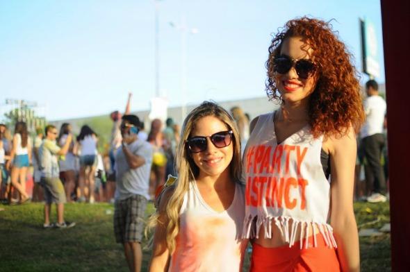 Isabella Cristina e Tascyla Guiatto. Crédito: Gabriel Pontual - Moove Comunicação