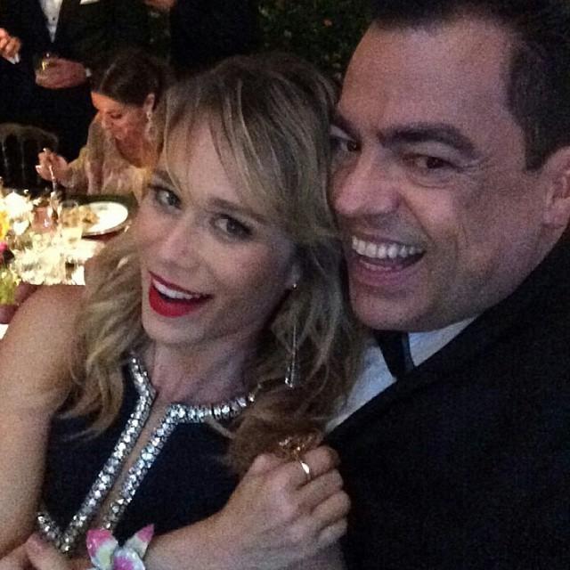Mariana Ximenes e Marco Antonio de Biaggi. Crédito: Reprodução Instagram
