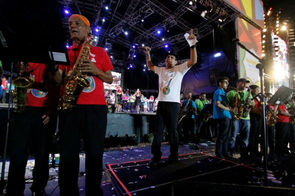 Spok Frevo Orquestra - Crédito: Ricardo Fernandes/DP/D.A Press