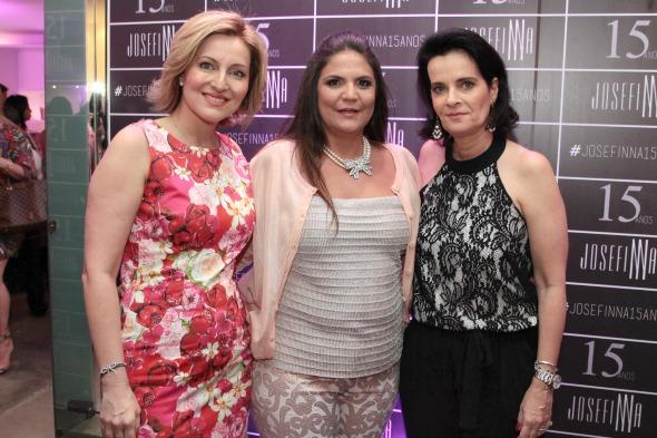Lana Bandeira, Luiza Barcelos e Guilhermina Coutinho - Crédito: Nando Chiappetta/DP/D.A Press