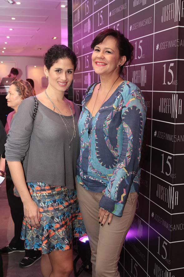 Gabriela Galvão e Isabela Gouveia. Crédito : Nando Chiappetta/DP/D.A Press