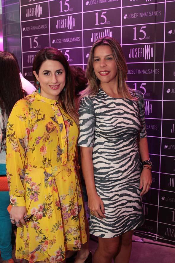 Camila Gusmão e Luciana Mapurunga. Crédito : Nando Chiappetta/DP/D.A Press