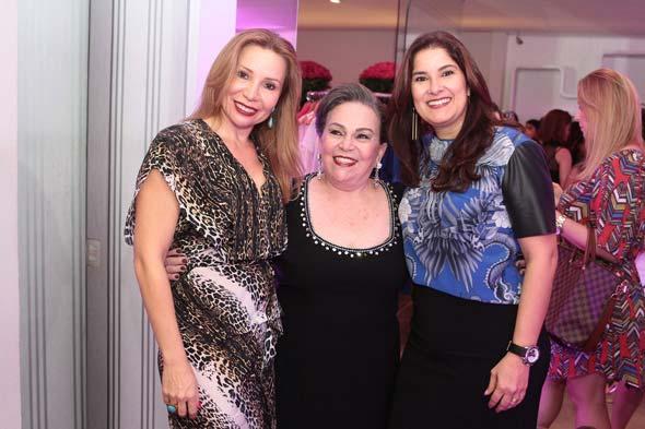 Rose Porpino, Marina Paiva e Renata Manguinho. Crédito : Nando Chiappetta/DP/D.A Press