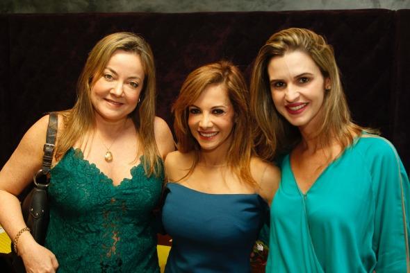 Carmita Mendonça, Luciana Lócio e Maria Helena Mendonça. Crédito: Chico Bezerra/CB Imagem