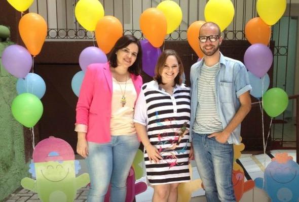 Carol Figueiredo, Ana Lucia Miranda e Bruno Santana. Crédito: Divulgação