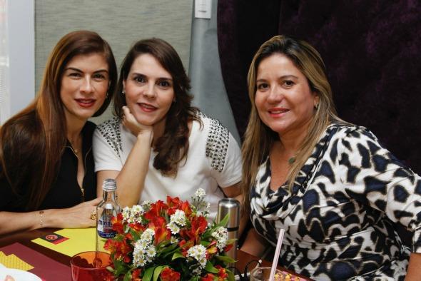 Clotilde Pinto, Cristina Uchoa e Mylene Gurgel. Crédito: Chico Bezerra/CB Imagem