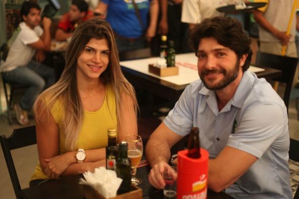 Livia Cunha e Luis Andrade Lima. Crédito: Vinicius Ramos/ Vagalume Comunicação