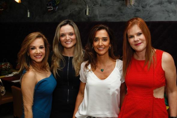 Luciano Lócio, Junia Gomes, Renata Amorim e Taciana Mendonça. Crédito: Chico Bezerra/CB Imagem