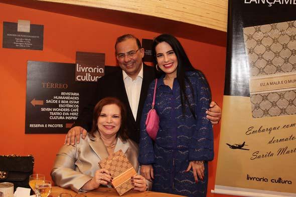 Sarita Martins, Waldir Bitú e Ana Paula Cascão - Crédito: Nando Chiappetta/DP/D.A Press