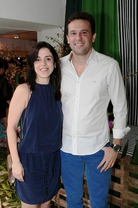 Ana Claudia e Augusto Acioli - Crédito: Nando Chiappetta/DP/D.A Press