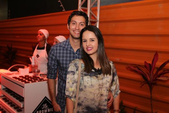 Breno Vieira e Ana Luiza Wanderley. Crédito: Américo Nunes