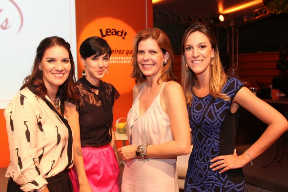 Jamine Tinoco, Teta Barbosa, Carol Boxwel e Camila Piccini. Crédito: Américo Nunes