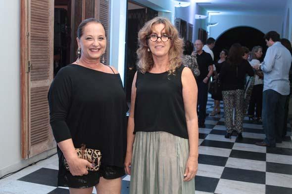 Flávia Brunetti e Betânia Correa. Crédito: Nando Chiappetta/DP/D.A Press