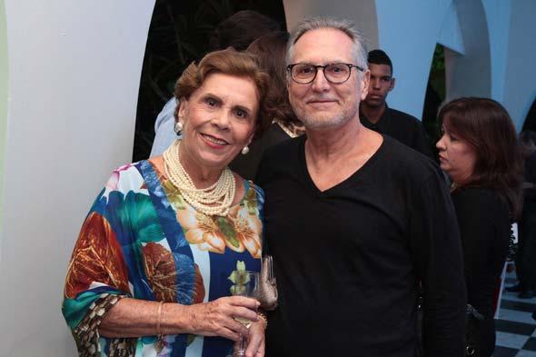 Geralda Farias e Otávio Meira Lins. Crédito: Nando Chiappetta/DP/D.A Press