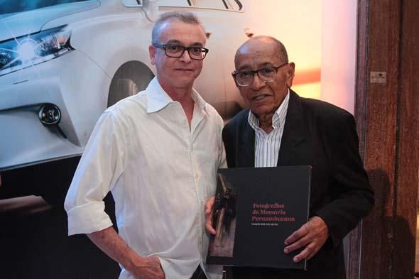 Gil Vicente e José dos Santos. Crédito: Nando Chiappetta/DP/D.A Press