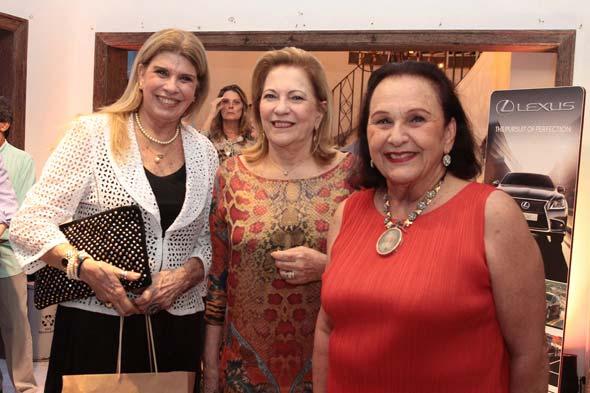 Dora Souza Leão, Rosinha Spineli e Dora Albuquerque. Crédito: Nando Chiappetta/DP/D.A Press