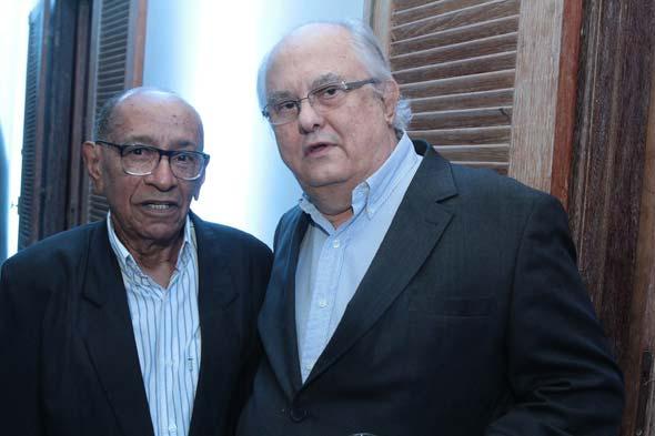 José dos Santos e Leonardo Dantas. Crédito: Nando Chiappetta/DP/D.A Press