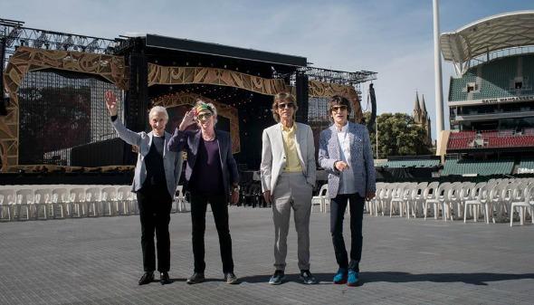 The Rolling Stones. Crédito: Reprodução Facebook