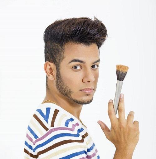 Kennedy Santana - Crédito: Divulgação do maquiador