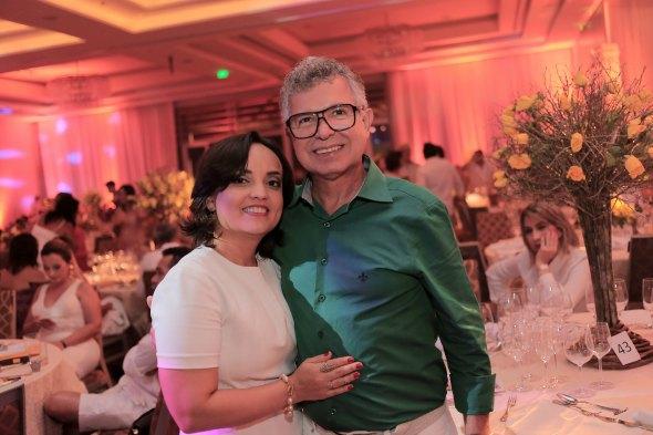 Elias Gomes e Ana karla. Crédito: Gleyson Ramos / Divulgação