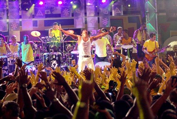 Timbalada. Créditos: Edgar de Souza/ Divulgação