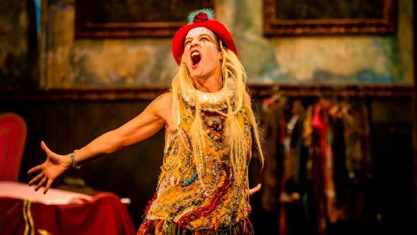 Luana Piovani é a atriz principal do musical infantil.  Créditos: Facebook oficial da peça