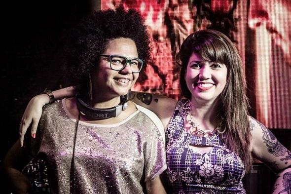 As anfitriãs do agito: Lala K e Allana Marques - Crédito: Máquina 3/Divulgação