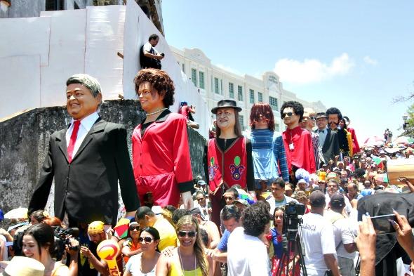 Opção para curtir o carnaval de Olinda longe das multidões - Crédito: Alcione Ferreira/DP/D.A Press