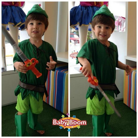 Peter Pan. Crédito: Baby Boom Kids / Divulgação