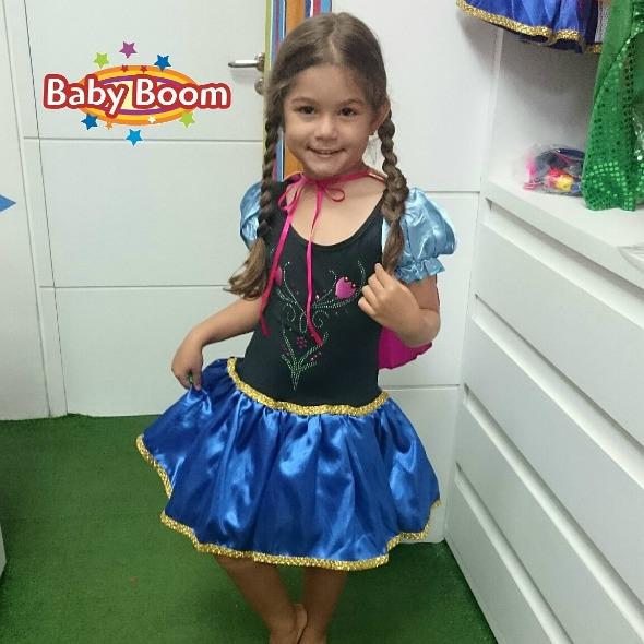 Princesa Ana. Crédito: Baby Boom Kids / Divulgação