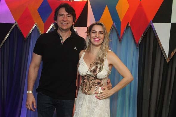Daniel pessoa e Taciana Carulla - Crédito: Nando Chiappetta/DP/D.A Press
