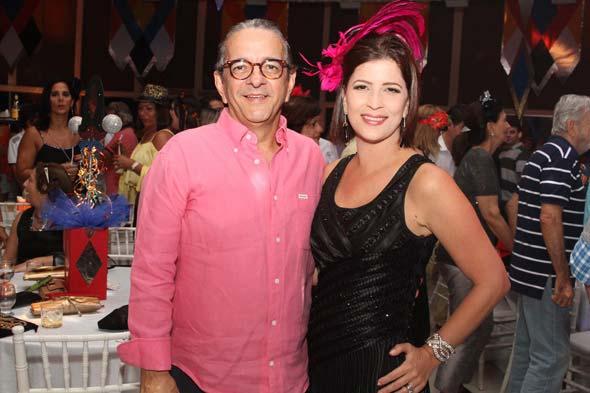 Antônio Lavareda e Carla Bensoussan - Crédito: Nando Chiappetta/DP/D.A Press