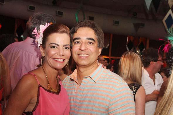 Daniela Gusmão e Olavo de Andrade Lima - Crédito: Nando Chiappetta/DP/D.A Press