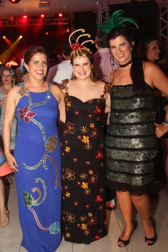 Cristina Mello, Ana Luiza Câmara e Luiza Nogueira - Crédito: Nando Chiappetta/DP/D.A Press