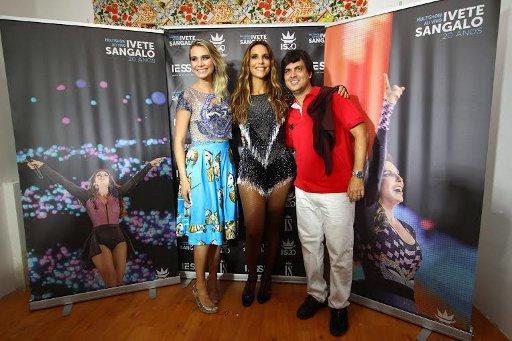 Ivete Sangalo com Bruno Rêgo e Manuca Furtado