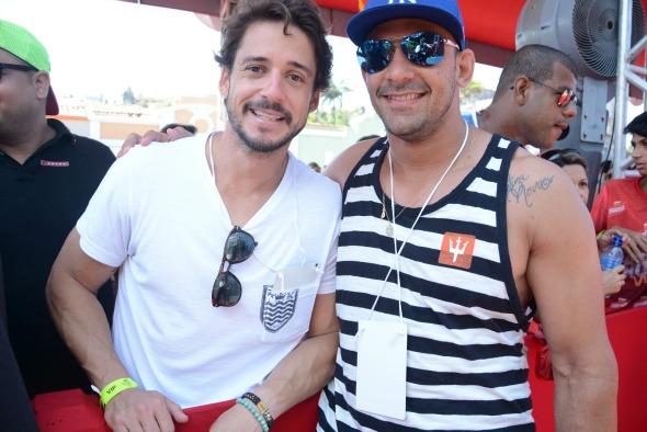 Guilherme Menezes e Bruno Novaes. Créditos: Gabriel Pontual/ Moove Comunicação