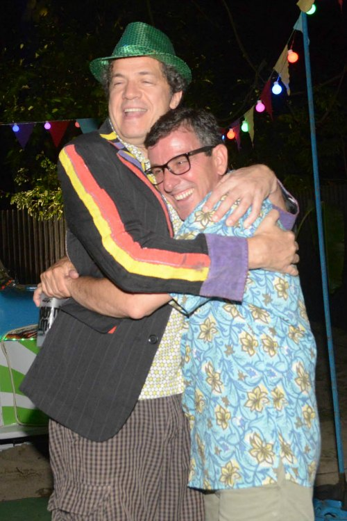 Chico Saboya e Felipe Cabral. Créditos: Charles Johnson/ Mondo Comunicação