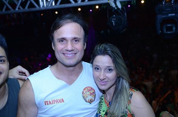 Waldemar e Dayanna Ximenez - Crédito: Ricardo Moreira/Divulgação