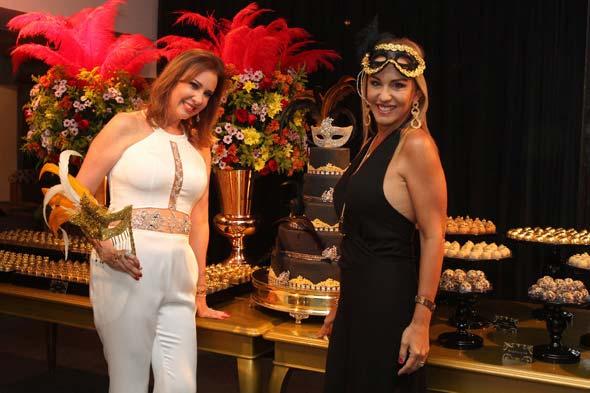 Sophia Lins e Lucinha Cascão Crédito: Nando Chiappetta/DP/D.A Press