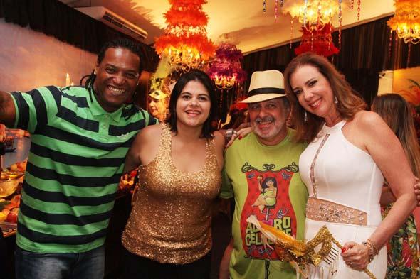 Thor, Priscilla Krause, Gustavo Krause e Sophia Lins Crédito: Nando Chiappetta/DP/D.A Press