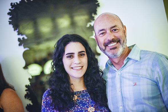 Eduarda e Sandro Curra - Crédito: Felipe Ribeiro/Divulgação