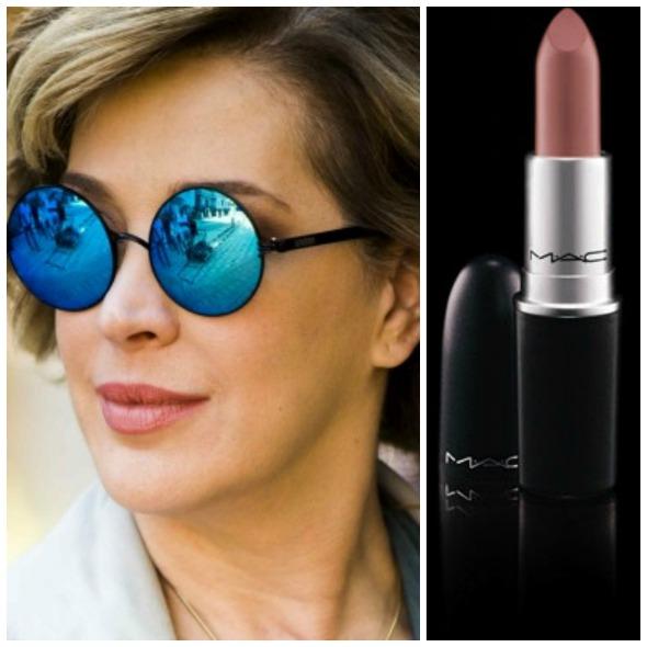 Kinda Sexy fez sucesso nos lábios de Cláudia Raia. Crédito: Globo e MAC / Divulgação
