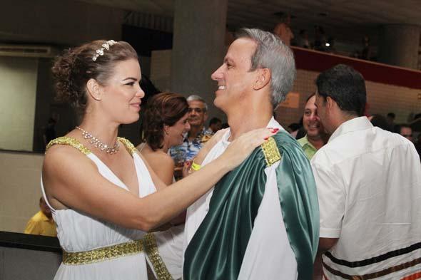 Juliana Lins e Carlos Augusto Costa - Crédito: Nando Chiappetta/DP/D.A Press