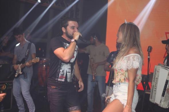 Forró Pegado também animou a festa. Crédito: Vinícius Ramos / Divulgação