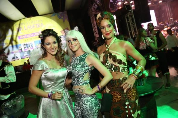 Isabelle Leite, Duda Dubeux e Renata Barroca. Crédito: Gleyson Ramos / Divulgação